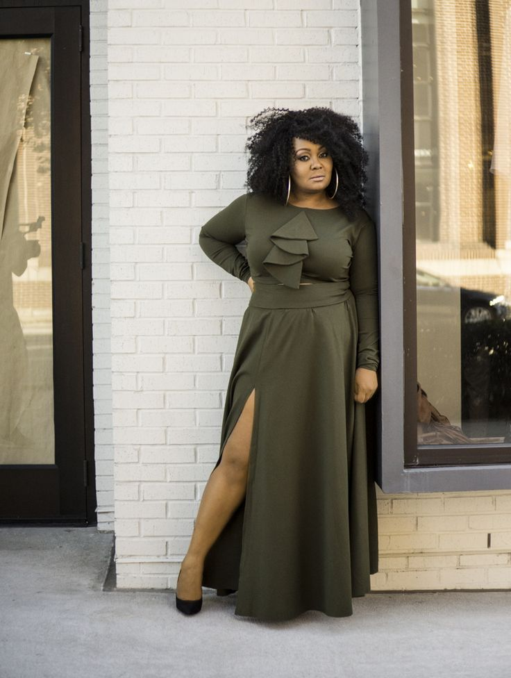 Marie Denee The Curvy Fashionista with Christian Omeshun