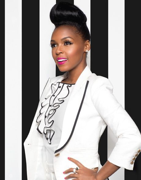 Janelle Monae photo shoot in BUST magazine 2013