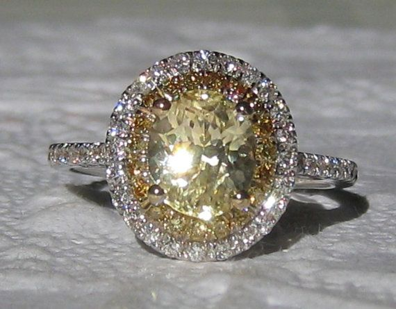 Hey, I found this really awesome Etsy listing at https://www.etsy.com/listing/167891503/2-carat-canary-yellow-untreated-ceylon