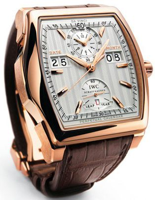 IWC Da Vinci Perpetual Calendar Digital Date-Month Watch
