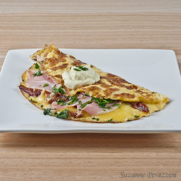 how to make the best ham and cheese omelette
