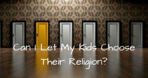 Ishfaq is a muslim he is about to marry a Christian can he allow their kids to choose their own religion?