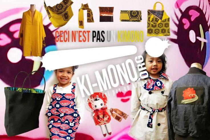 KIMONOムーブメントが人気、ブリュッセル・ヴィンテージ・マーケット