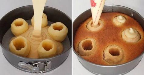 Megtisztítottam az almákat és megtöltöttem krémmel! Ilyen csodás desszertet még nem kóstoltál!