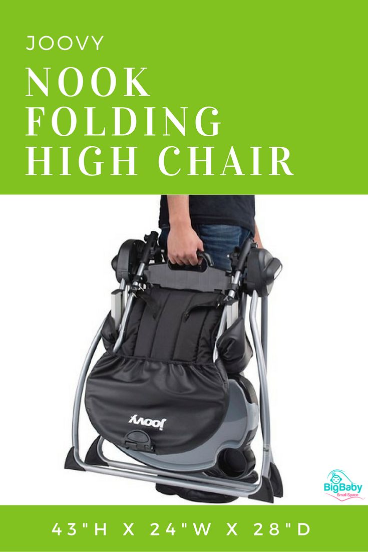 The Joovy Nook Folding High Chair Is A Hassle Free High Chair That Gives  Your