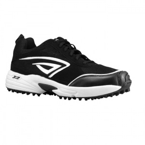 SALE - 3N2 PT Baseball Cleats Womens Black Suede - Was $89.99 - SAVE $10.00. BUY Now - ONLY $79.99