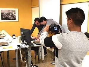 Éxito en presentación Proyecto Visual C# de nuestro alumno Vardan Israelyan realizada en la academia informática Cipsa de Barcelona. Más imágenes y detalles en el enlace