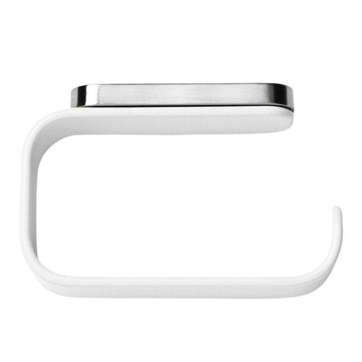 Menu - Menu Comfort WC-Rollenhalter - weiß/pulverbeschichtetes Aluminium