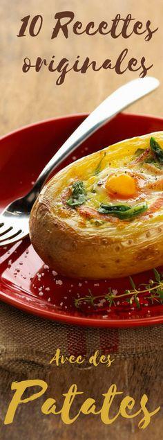 Découvrez les recettes à base de pommes de terre