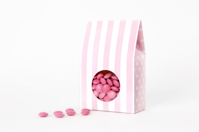 Rose Gelato candy box from candy soirees partyware