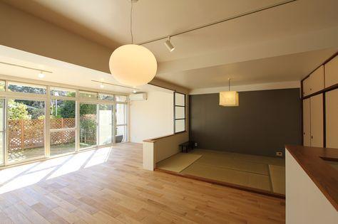 LIVING/DINING/WASHITSU/room/リビング/ダイニング/和室/フィールドガレージ/FieldGarage INC./リノベーション