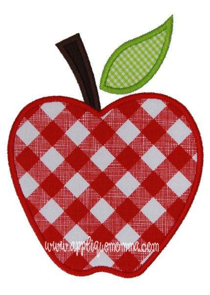 Apple Applique Design