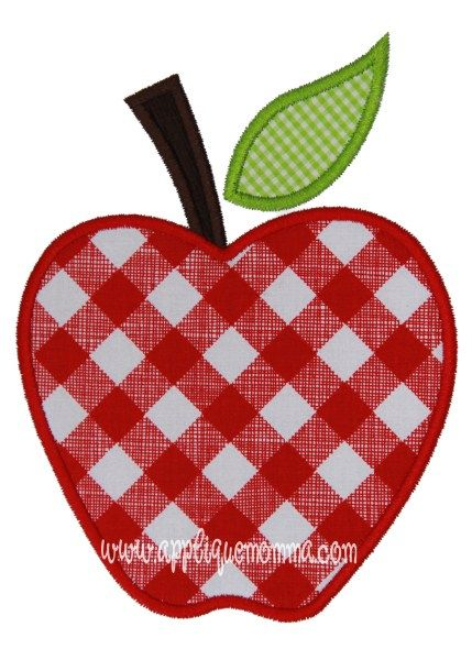 Apple Applique Design