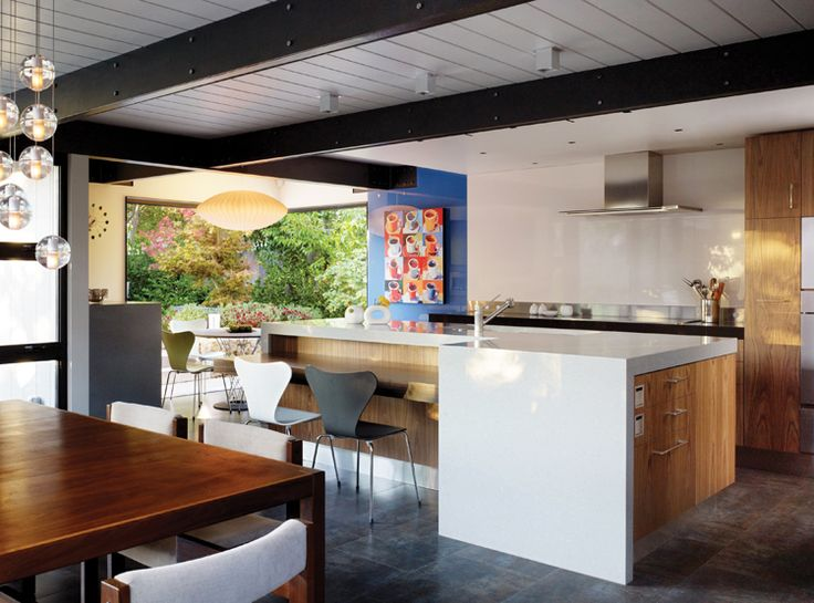 kitchen contest winner: walnut creek eichler kitchen