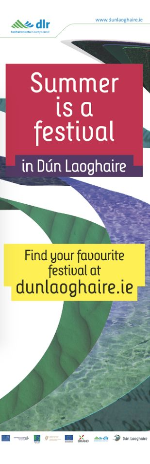 Summer Festival Lamppost Banners Dún Laoghaire.