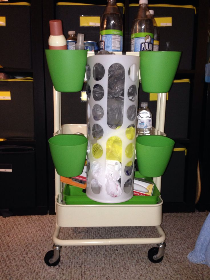 10 best images about organization on pinterest good for Ikea luggage cart