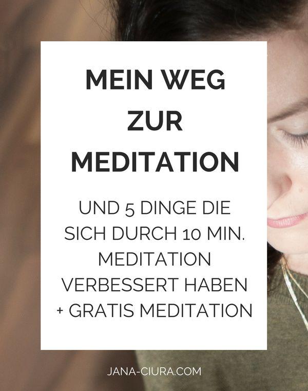 Mein Weg zur Meditation – modernslow