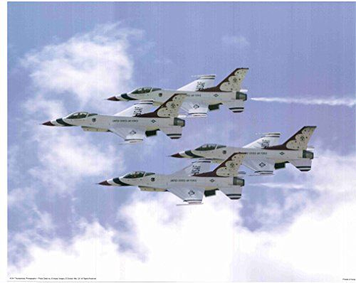 The Thunderbirds are the Air Demonstration Squadron, of the U.S. Air Force based at Nellis AFB, Las Vegas, Nevada. The aircraft support Air Force recruiting and retention programs. The first aircraft of Thunderbirds is selected for the new demonstration team was the straight wing F-84G Thunder jet built by Republic Aviation.
