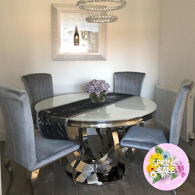 The Donatella Circular Dining Set From 1349 99 In Our Spring