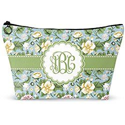 """Vintage Floral Makeup Bag - Small - 8""""x5"""" (Personalized)"""