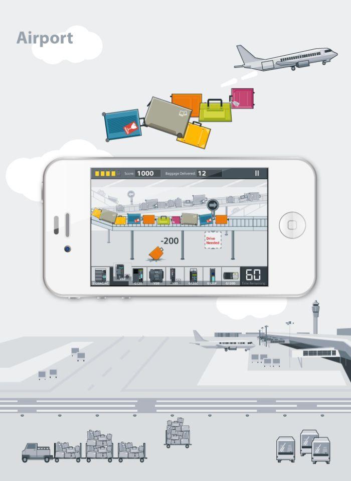 iOS game application design by fan fan at Coroflot.com