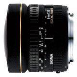 Sigma - 8mm f/3.5 EX DG Circular Fish-Eye Lens for Select Sigma Digital Cameras - Black, 485110
