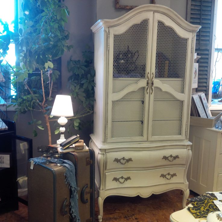 Gorgeous Shabby Chic Country French Armoire