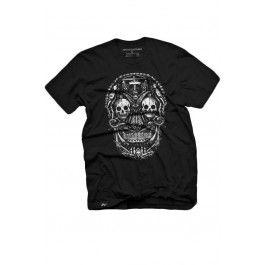Men's Skull Creation T-Shirt - Black