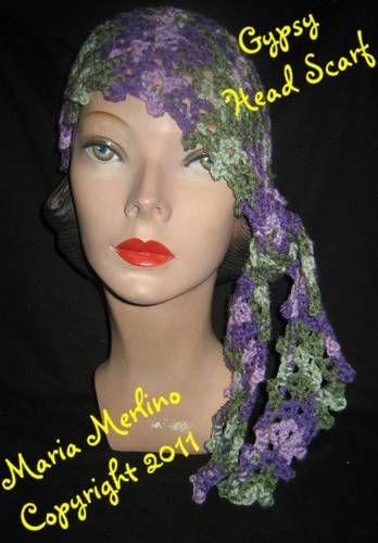 Free Crochet Pattern For Head Scarf : 1000+ images about CHEMO CAPS on Pinterest Cap Dagde ...