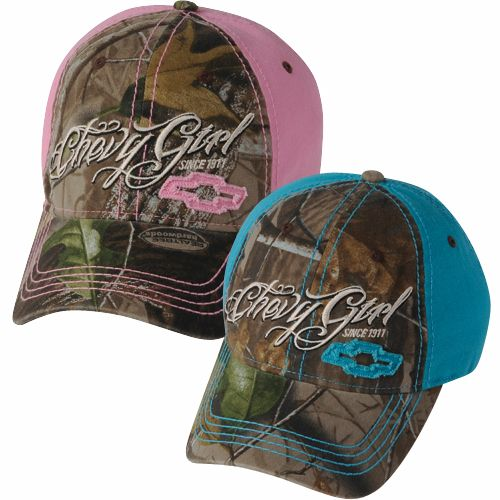 Chevrolet Ladies Camo Cap-Chevy Mall I want them both!