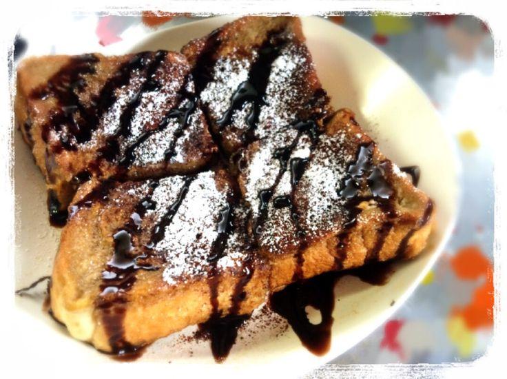 ブレンディで♪カフェモカフレンチトースト by Omochiii★ [クックパッド] 簡単おいしいみんなのレシピが241万品
