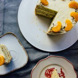 Mandarínkovo maková torta
