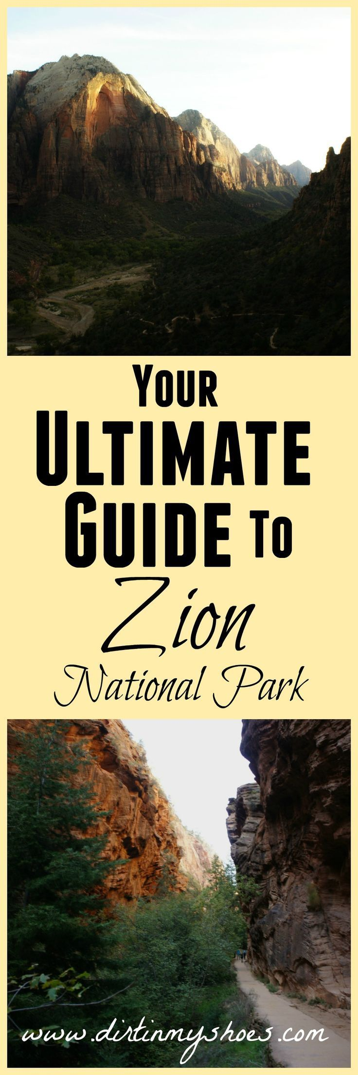Everything you need to know about taking the trip of a lifetime to Zion National Park -- including lodging, dining, trails, and an awesome itinerary!