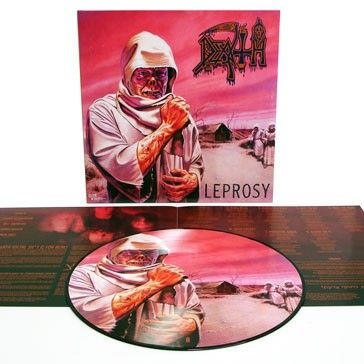 Leprosy LP Reissue *Picture Disc* LTD to 1000 M/O Exclusive / Relapse Records