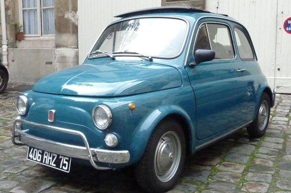 Check it out! Fiat 500 turquoise de 1968 entièrement rénovée in Levallois-Perret, Île-de-France on Krrb!
