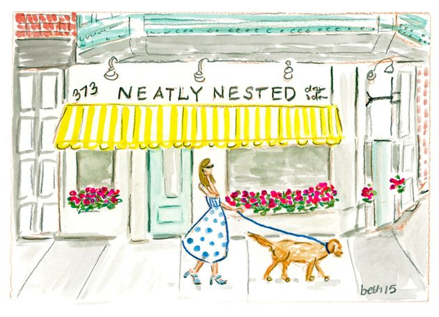 Custom pet and bridal portraits coming soon to Neatly Nested Design and Decor in South Boston!