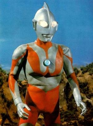 Ultraman, he seemed cooler when I was a kid.