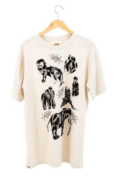 RCM CLOTHING / T-SHIRT JUNGLE  Sustainable Hemp Apparel, 55% hemp 45% organic cotton jersey http://www.rcm-clothing.com/