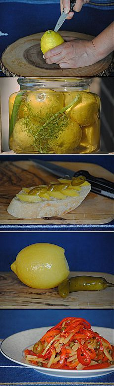 Магрибские лимоны