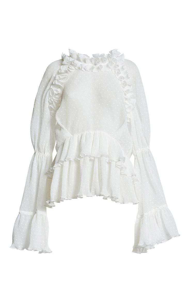 Purity Ruffle Blouse by Romance Was Born