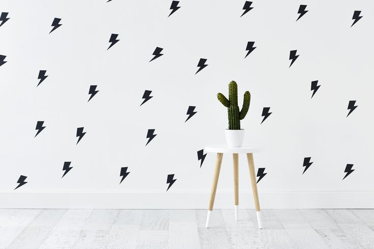 Adairs Kids Wall Stickers Lighting Bolts