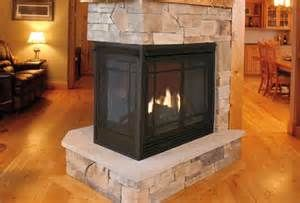 Kozy Heat Trimont 3-Sided See-Thru Gas Fireplace - CJs Hearth and Home