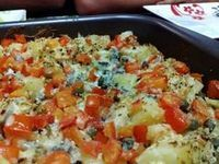 Receita de Bacalhau desfiado no forno - Tudo Gostoso
