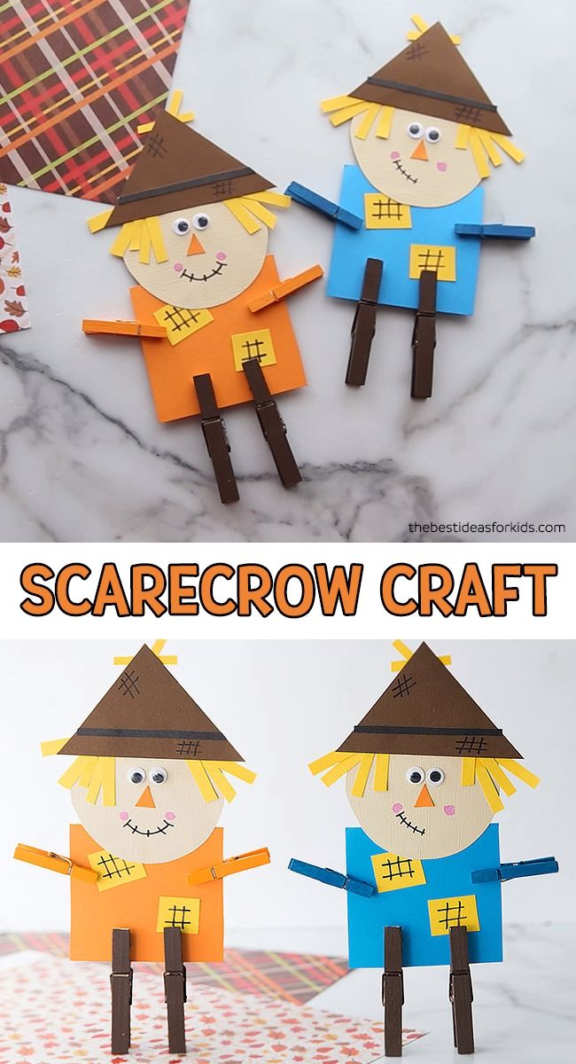 SCARECROW CRAFT 🎃