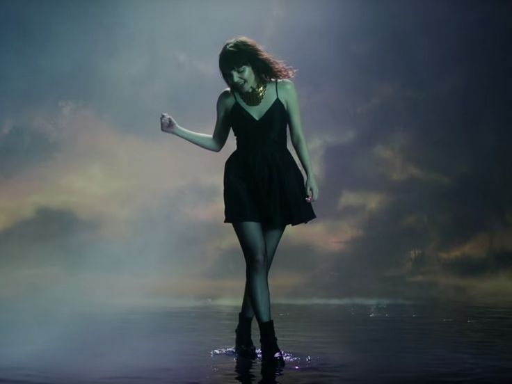Chvrches lead singer Lauren Mayberry in the band's new video 'Leave a Trace'