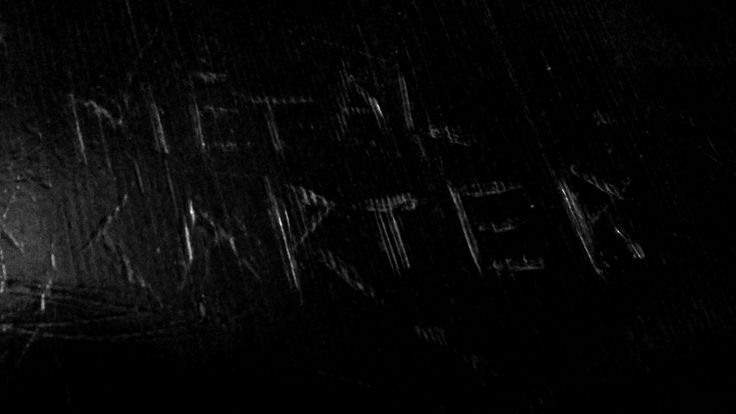 ARRIVA CARTER DEATH MASTER PRENDE IL COMANDO! Metal Carter aka Sergente di metallo aka Master of Pain aka Godfather of Death Rap aka Cult Leader Truceboys Truceklan