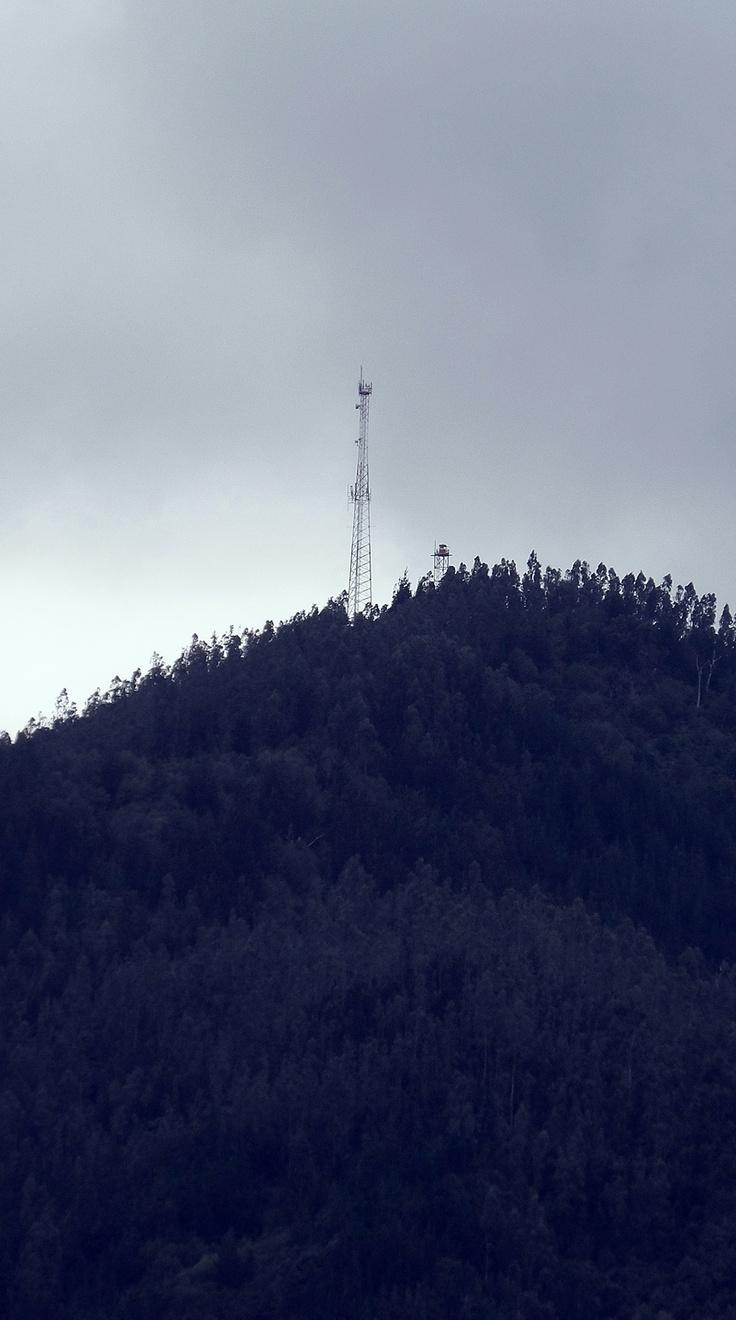 ... cerro de Chiguayante ... lo primero que veo del día ...