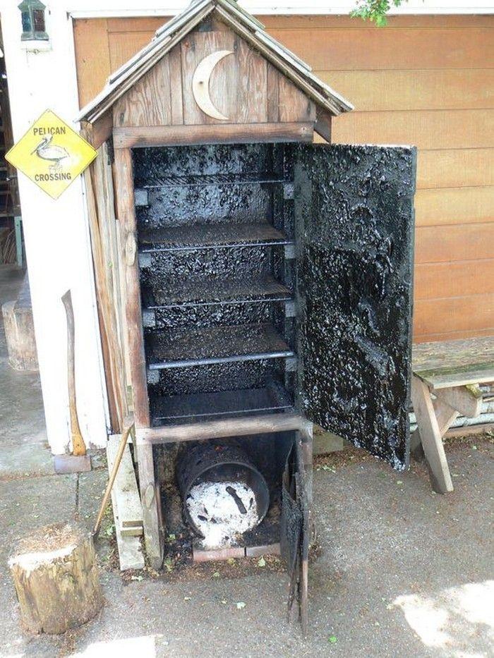 Build your own timber smoker! Diy smoker, Smokehouse