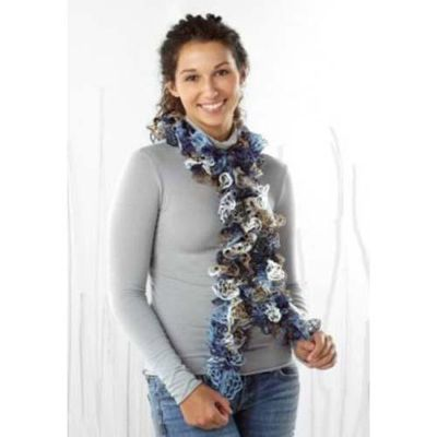 Écharpe grand picot (crochet)