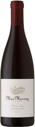 Show details for MacMurray 2009 Pinot Noir, Willamette Valley. he wine has a long, intricate finish, and will only develop more nuances over time. #asapvino